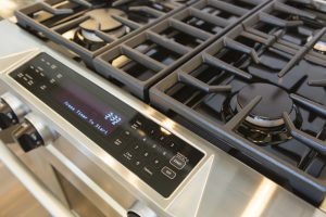 A high-end range is one of the benefits of propane conversion