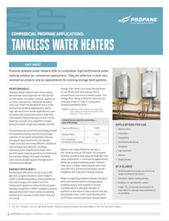 Commercial Tankless HW Heaters